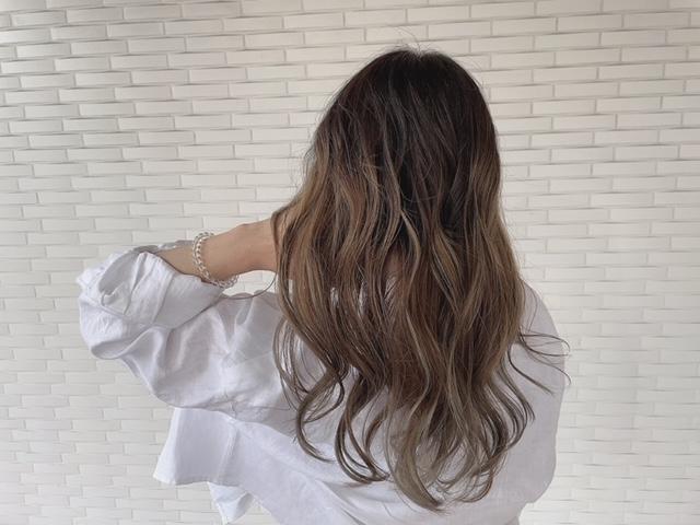 白髪があってもデザインカラーは出来ます!